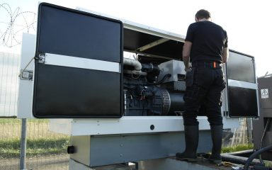 Generator servicing maintenance repair