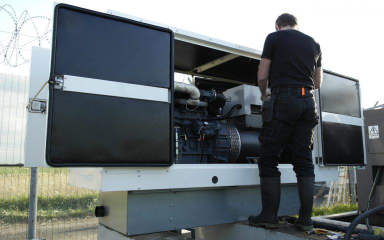 Generator servicing maintenance repair