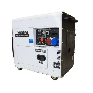 Hyundai DHY8000SELR-T 6kW 3PH Long Run Diesel Generator