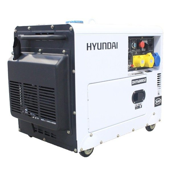 Hyundai DHY6000SE Diesel Generator