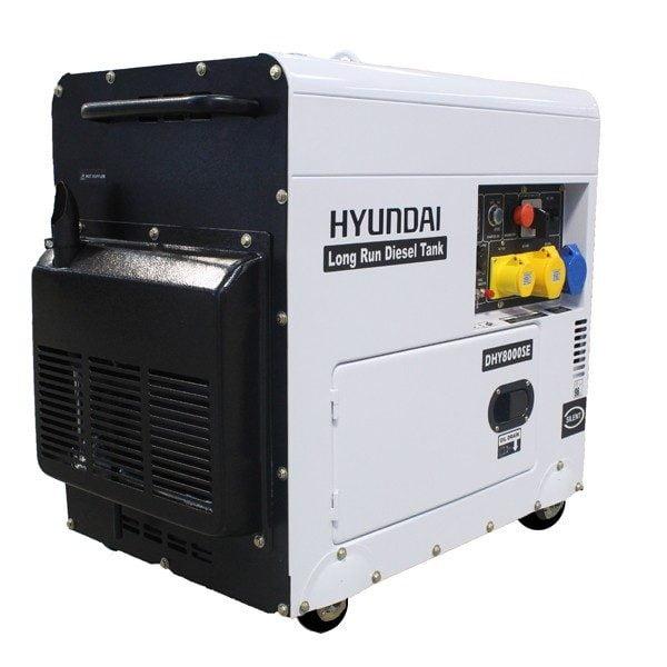 Hyundai DHY8000SELR