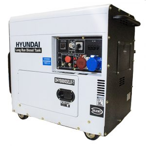 Hyundai DHY8000SELR T 6kW 3PH Long Run Diesel Generator