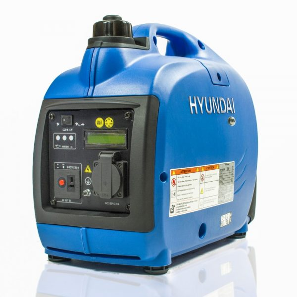 Hyundai HY1000Si Petrol Generator Left View