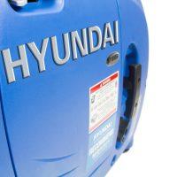 Hyundai HY1000Si Petrol Generator Side View Right
