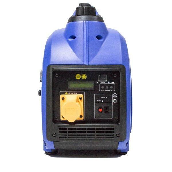 Hyundai HY2000Si 115 1600w Portable Petrol Inverter Generator Face View