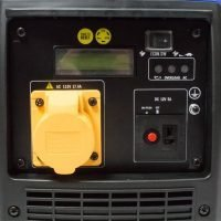 Hyundai HY2000Si 115 1600w Portable Petrol Inverter Generator Pannel