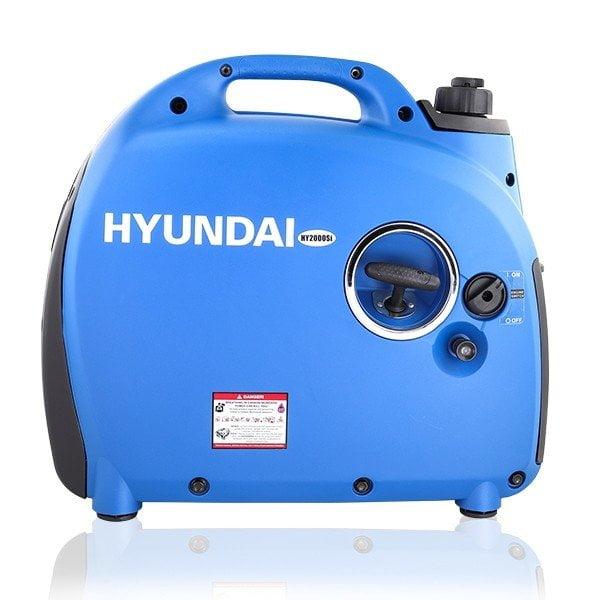 Hyundai HY2000Si 2000w Portable Petrol Inverter Generator Recoil Start