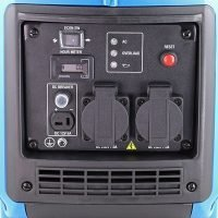 Hyundai HY2000Si 2000w Portable Petrol Inverter Generator Sockets