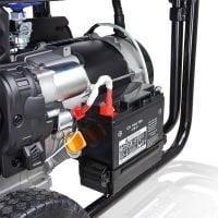 Hyundai HY9000LEK 2 7.5kW 9.4kVa Recoil & Electric Start Site Petrol Generator Battery