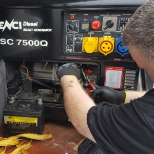 Portable generator service repair maintenance