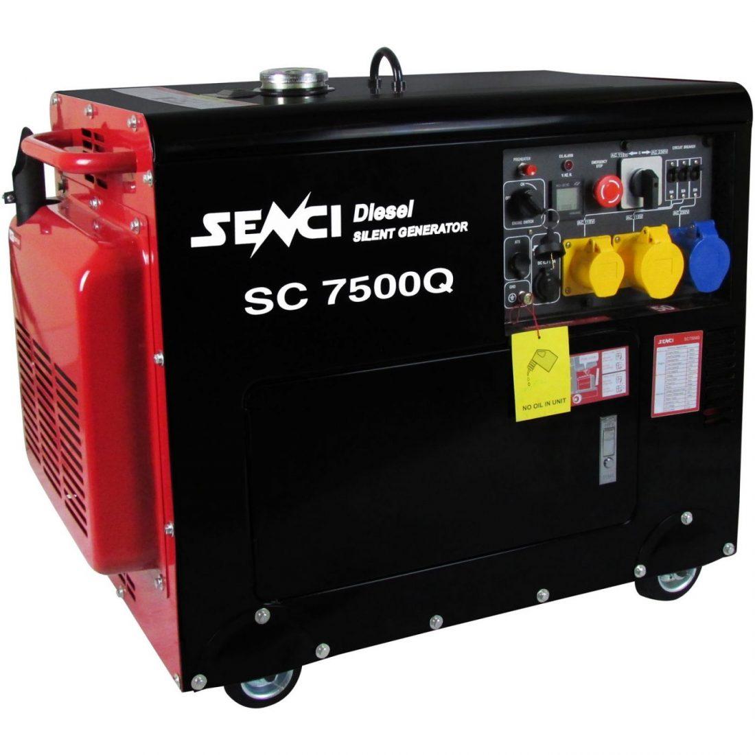 Senci SC7500Q diesel generator
