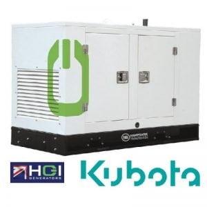 12kVA Diesel Generator 9kW Single Phase HSD120H Kubota Powered Silenced