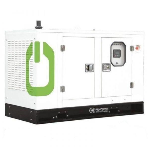 16kVA Diesel Generator 12.8kW Single Phase HSD160H Kubota Powered Silenced 1