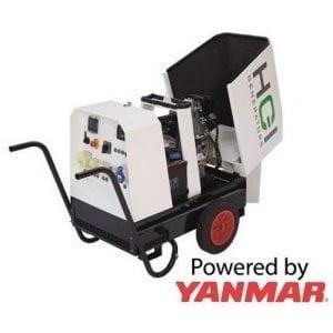 HGI HRD060 4.8kW Silenced Diesel Generator