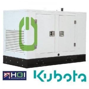 HGI HSD090 Kubota Powered 7.2kW 9kVA Silenced Diesel Generator