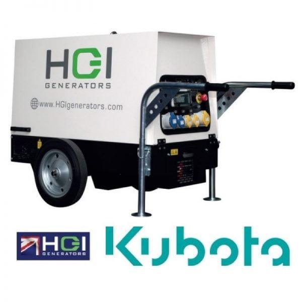 HGI SKD100i 10kVA 8kW 1PH Diesel Generator