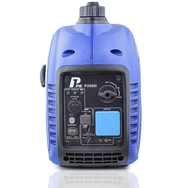 P1PE P2500i 2200W Portable Petrol Inverter Generator Front View