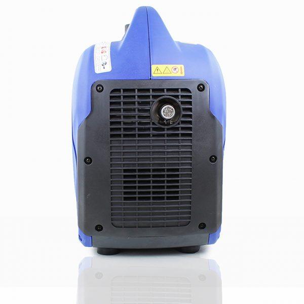 P1PE P2500i 2200W Portable Petrol Inverter Generator Rear View