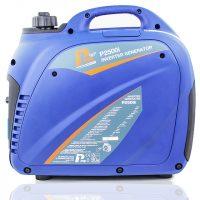 P1PE P2500i 2200W Portable Petrol Inverter Generator Side View Back