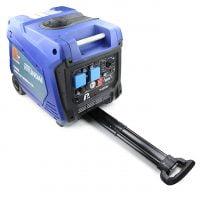 P1PE P4000i 3800W Portable Petrol Inverter Generator Handle Extended