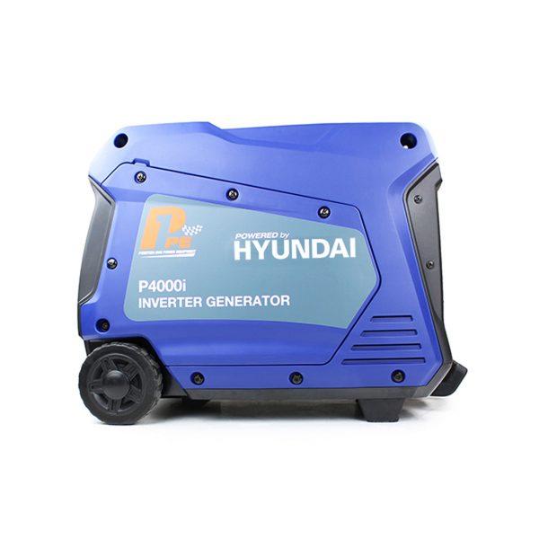 P1PE P4000i 3800W Portable Petrol Inverter Generator Side View Right