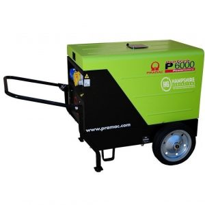 PRAMAC-P6000-5.3KW-DIESEL-GENERATOR-1PH-ELECTRIC-START