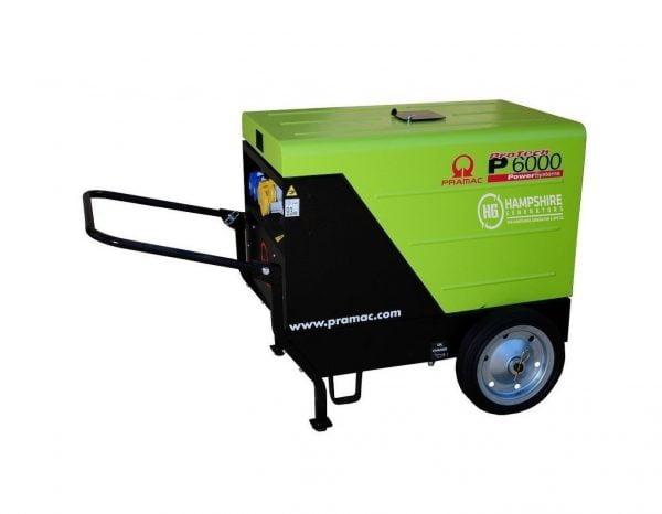 PRAMAC-P6000-5.3KW-DIESEL-GENERATOR-1PH-ELECTRIC-START