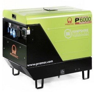 PRAMAC-P6000-5.3KW-DIESEL-GENERATOR-ELECTRIC-START-230V