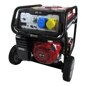 Senci-SC9000-II-8kW-Electric-Start-Frame-Mounted-Petrol-Generator