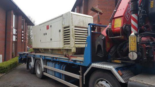 diesel generator delivery