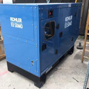 J88K 80KVA Used diesel generator for sale