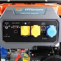 P10000LE Petrol generator P1pe electric start