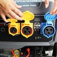 P10000LELPG Dual fuel petrol LPG generator P1PE