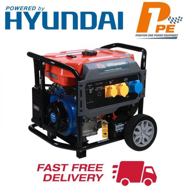 P10000LE petrol generator P1PE