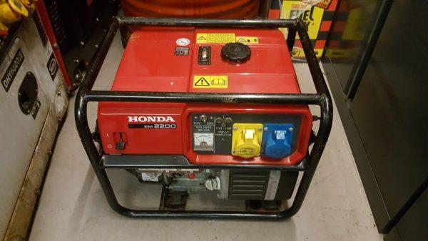 Used Honda generator for sale