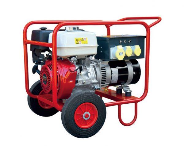 HGI-'HIRE-PLUS'-SITE-6.25-KVA-110V-HONDA-POWERED-PORTABLE-PETROL-GENERATOR