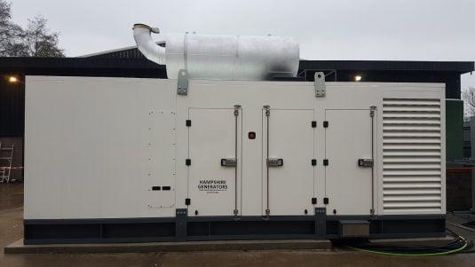 1000kVA diesel generator installation