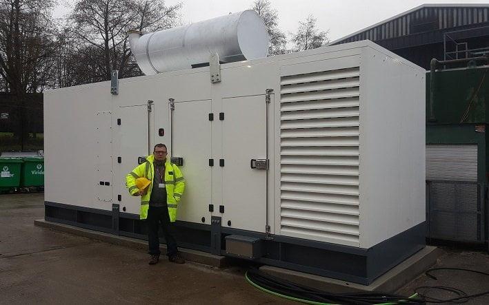 Diesel Generator installation UK