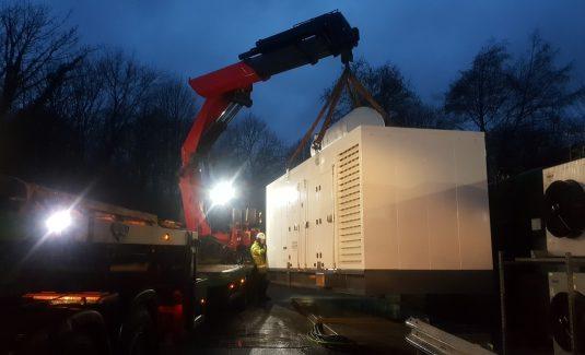 Diesel Generator installation 1000kVA