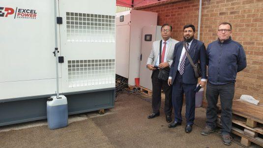 500kVA Perkins diesel generator for sale