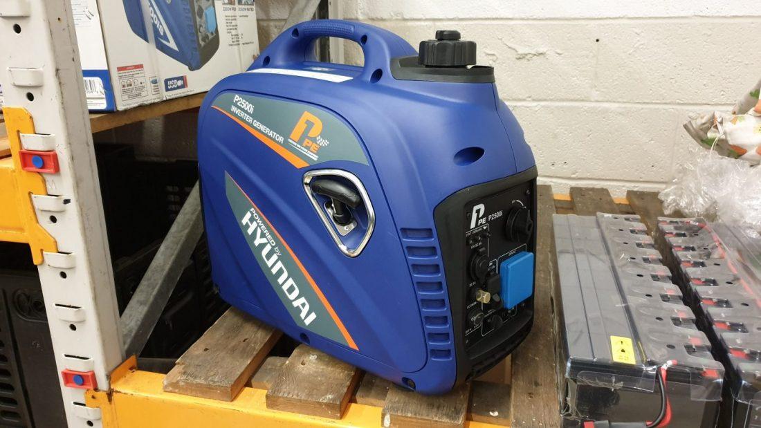 P1PE P2500i inverter petrol generator