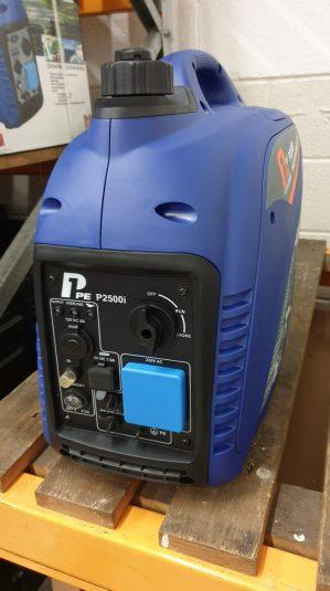 P2500i P1PE Hyundai powered petrol generator