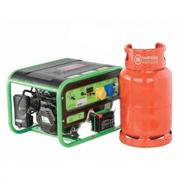 Greengear-GE-3000UK-3kw-Portable-LPG-Powered-Generator