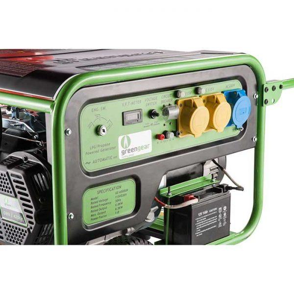 GE5000UK LPG Generator