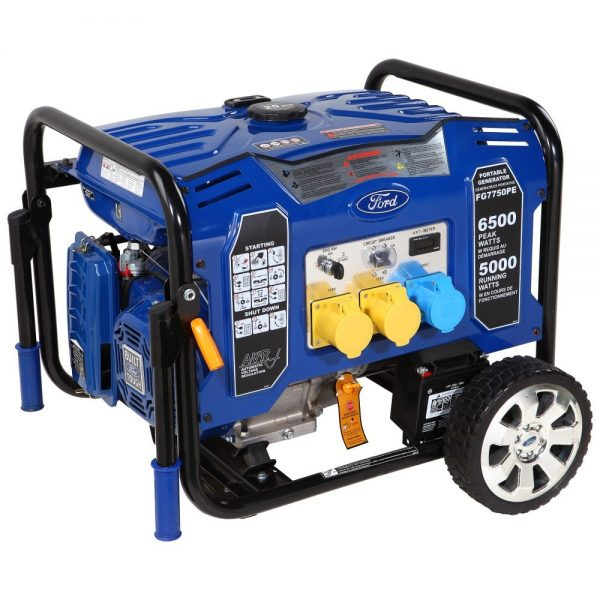 FG7750PE Ford Petrol Generator