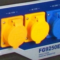 Ford electric start generator sockets
