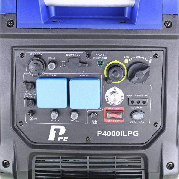 P4000iLPG Generator P1PE