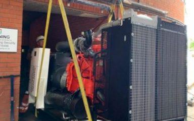 300kVA standby generator installation