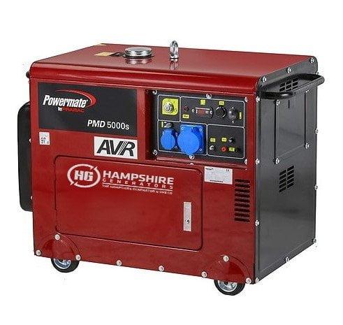PRAMAC-POWERMATE-4.95KW-PMD5000S-DIESEL-GENERATOR-WITH-ATS