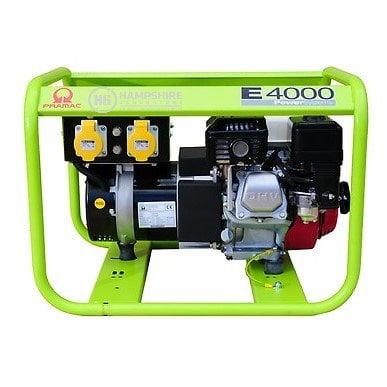 Pramac-E4000-3.1kw-230V-110V-Petrol-Generator-Recoil-Start